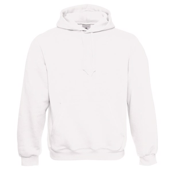 Hooded Sweatshirt - White / M