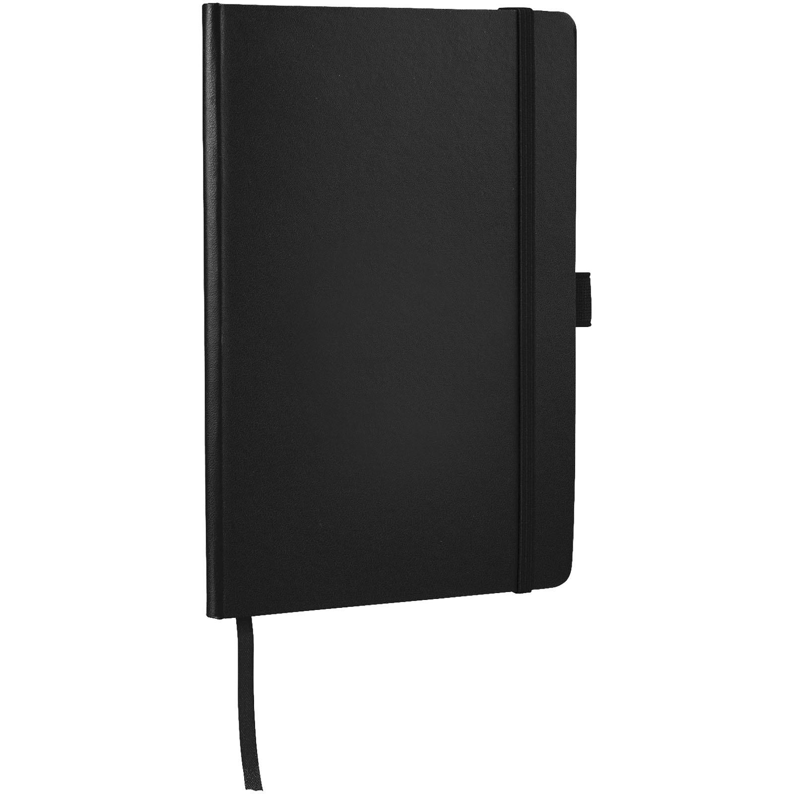 Flex A5 Notizbuch mit flexibler Rückseite - Schwarz