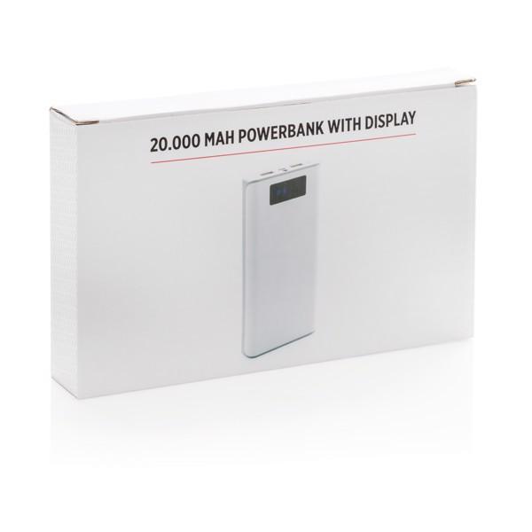 Powerbanka s displejem 20000mAh