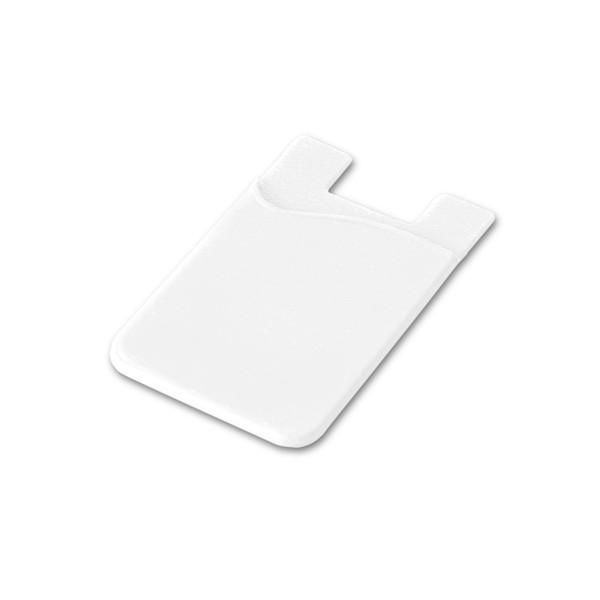 SHELLEY. Θήκη καρτών smartphone - Λευκό