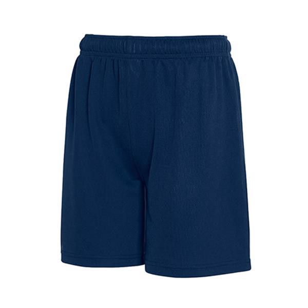 Calção Kids Performance Shorts 140G - 100% Poliéster - Dark Blue