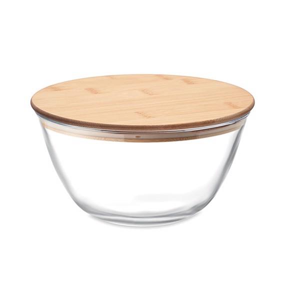Glass salad box 1200 ml Salabam