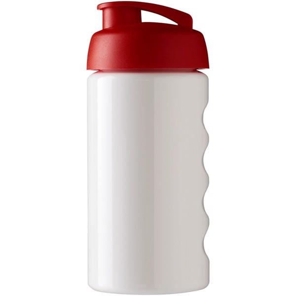 H2O Bop® 500 ml flip lid sport bottle - White / Red