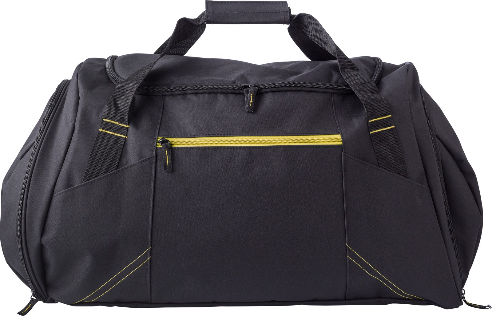 Polyester (300D) sports bag - Yellow