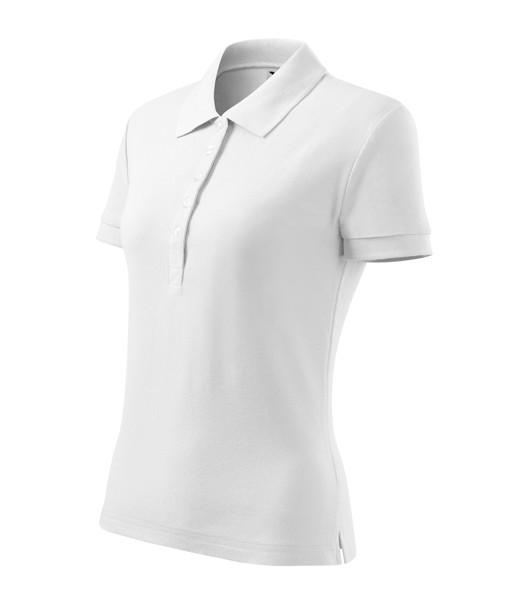 Polo Shirt Ladies Malfini Cotton Heavy - White / M