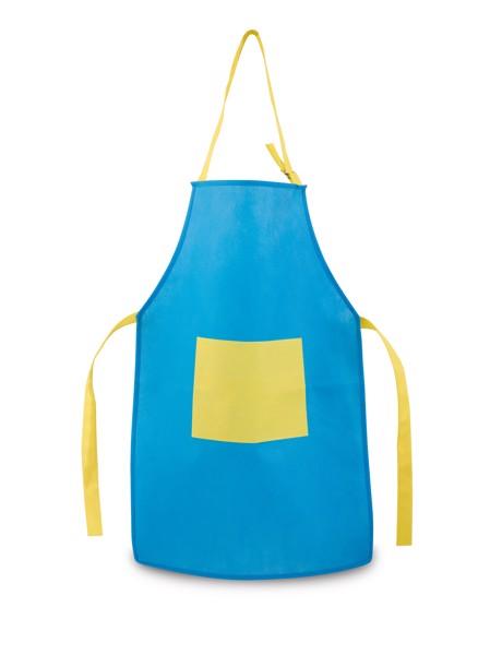 LAVENDER. Apron for children - Light Blue