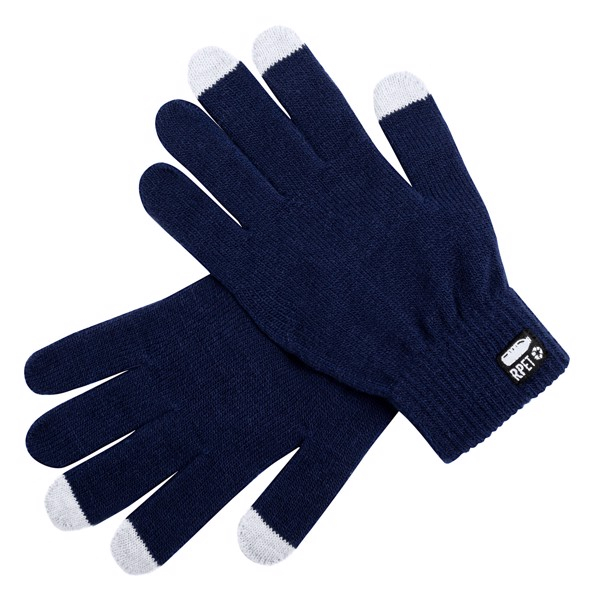 Rpet Touch Screen Gloves Despil - Dark Blue