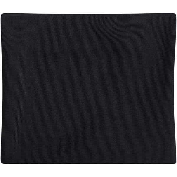 Squat wristband with zippered pocket - Solid black