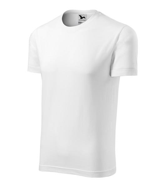 Tričko unisex Malfini Element - Bílá / XL