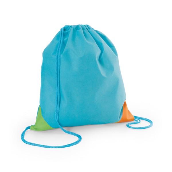 BISSAYA. Drawstring bag - Light Blue