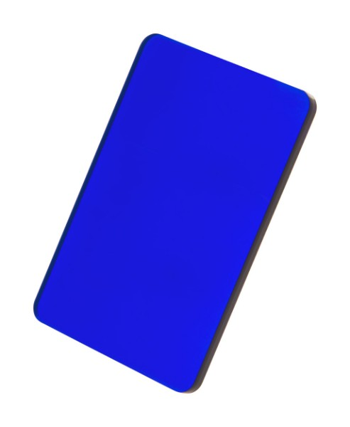 Breloc CreaFob - Albastru Transparent