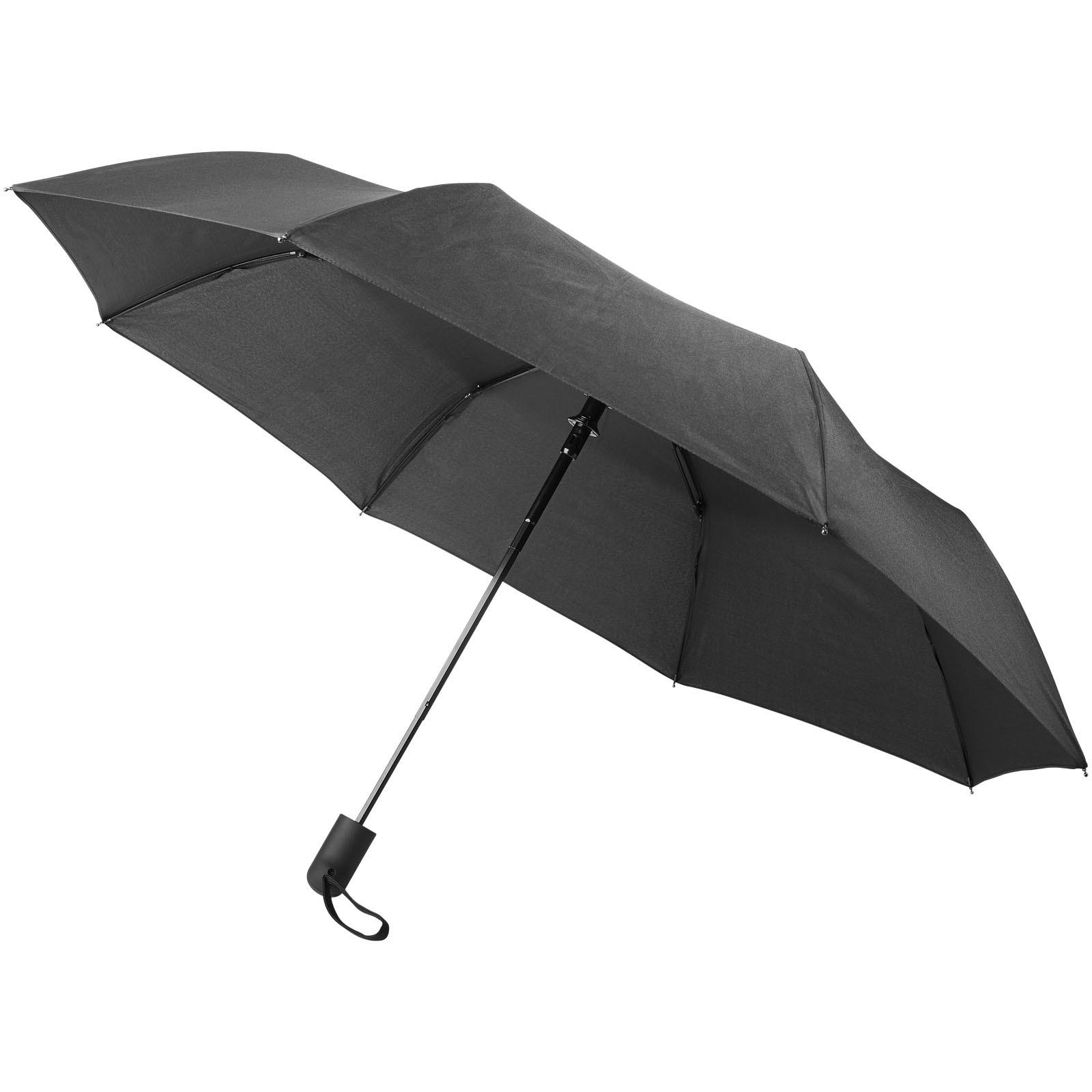 """21"""" deštník Gisele s automatickým otvíráním - Černá"""
