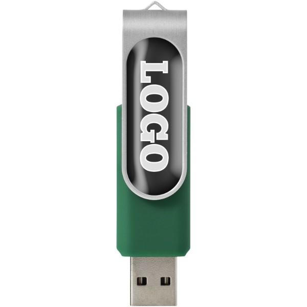 Rotační Doming USB - Zelená / 1GB