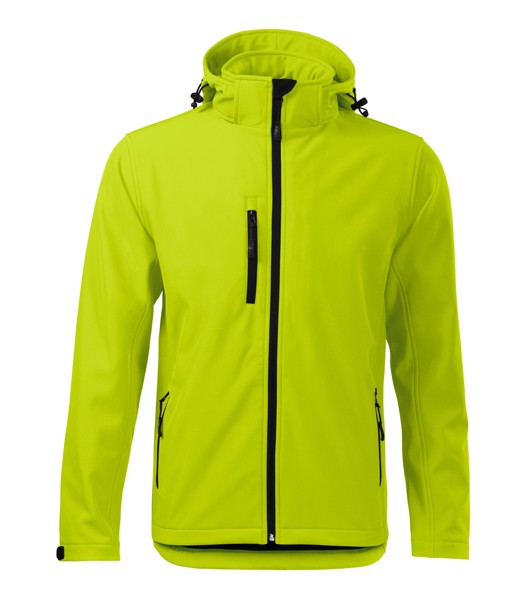 Softshell Jacket Gents Malfini Performance - Lime Punch / S