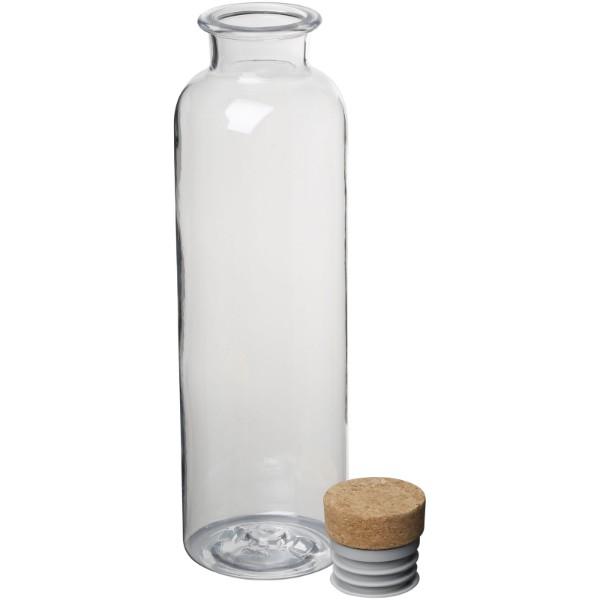 Sparrow 650 ml Tritan™ Sportflasche mit Korkdeckel - transparent klar