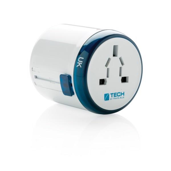Cestovní adaptér pro celý svět Travel Blue