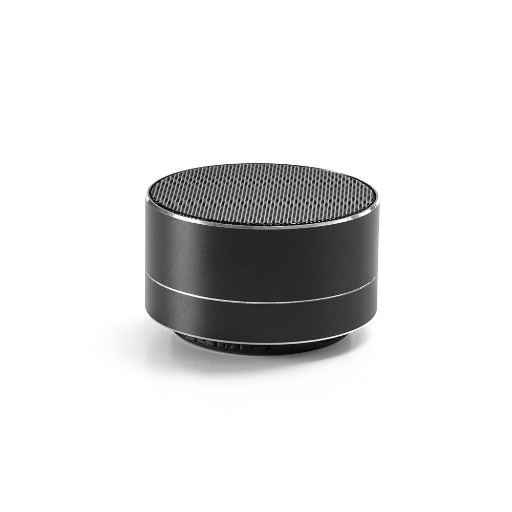FLOREY. Portable speaker with microphone - Black