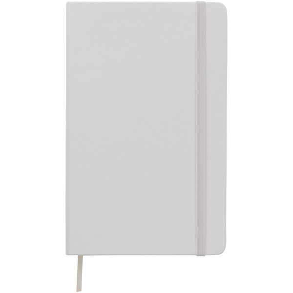 Classic L hard cover notebook - dotted - White