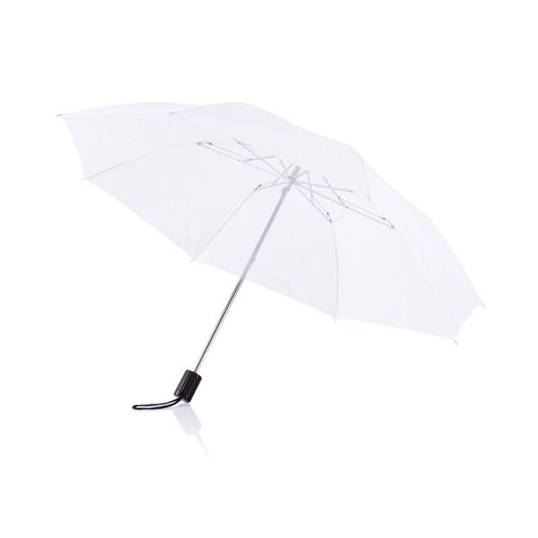 "20"" skládací deštník Deluxe - Bílá"