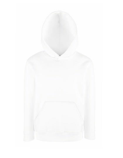Kids Classic Hooded Sweat - White / 152