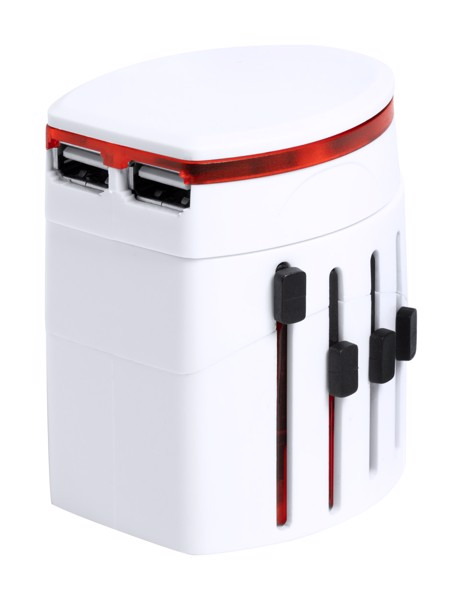 Travel Adapter Nonval - White