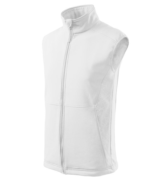 Softshell Vest Gents Malfini Vision - White / 2XL