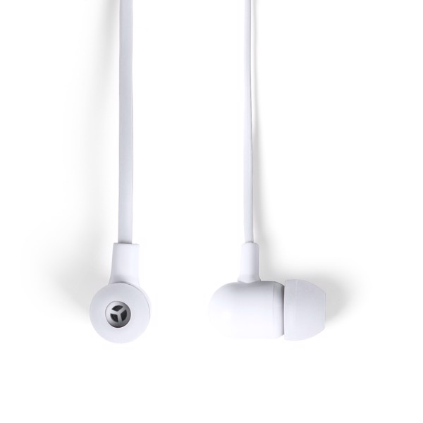 Earphones Stepek - White