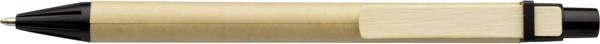 Kugelschreiber aus Pappe - Black