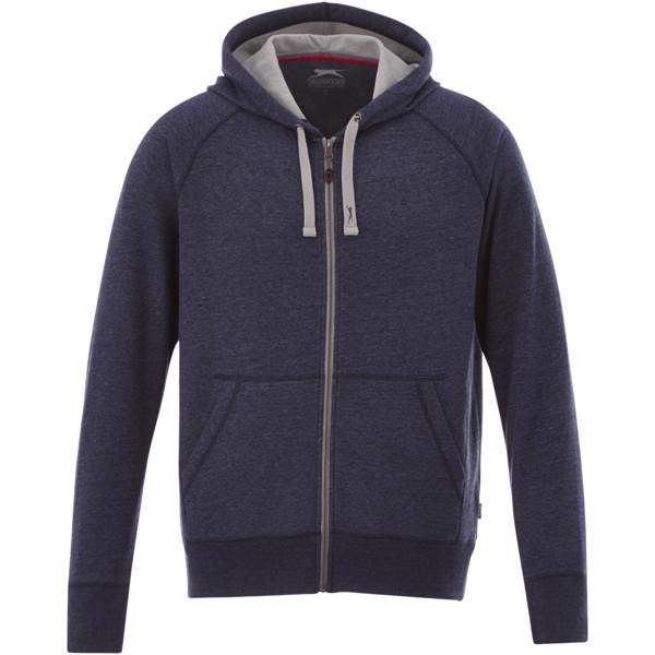 Groundie full zip ladies hoodie - Heather smoke / S