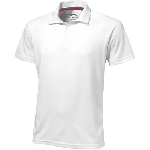 Game short sleeve men's cool fit polo - White / 3XL
