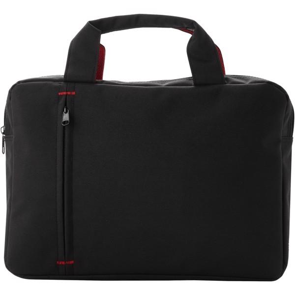 Konferenční taška Detroit - Černá / Červená s efektem námrazy