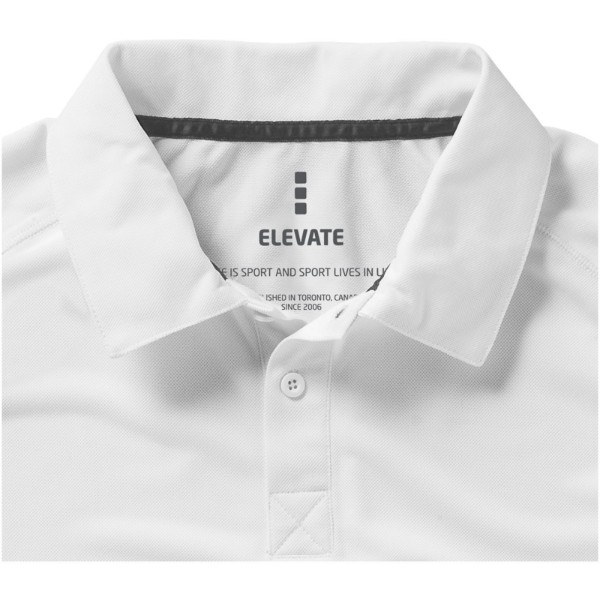 Ottawa short sleeve men's cool fit polo - White / XS