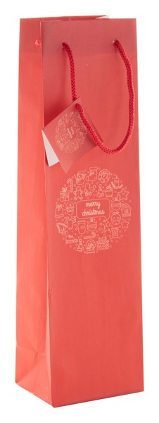 Wine Gift Bag Tammela W - Red