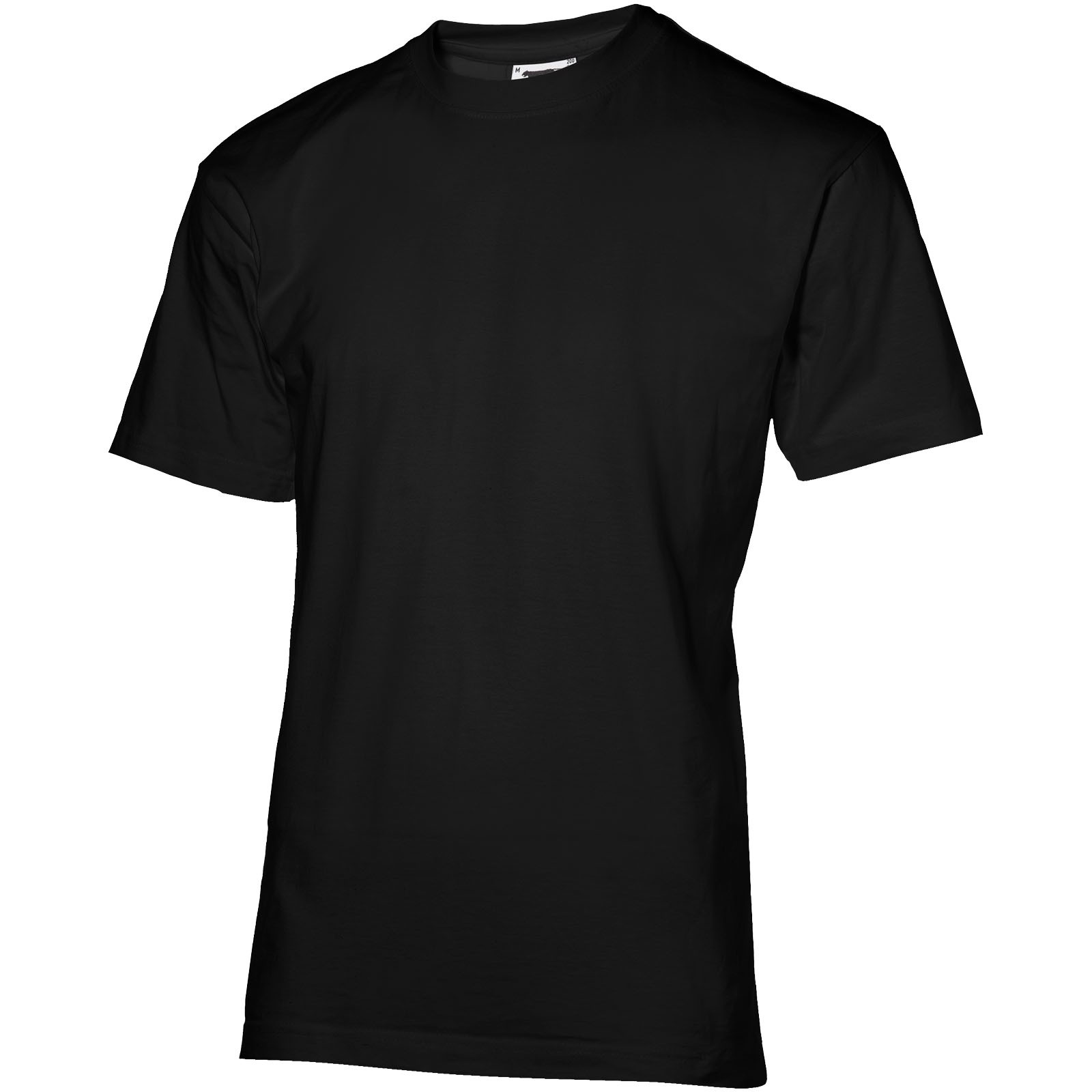 Return Ace short sleeve unisex t-shirt - Solid Black / M