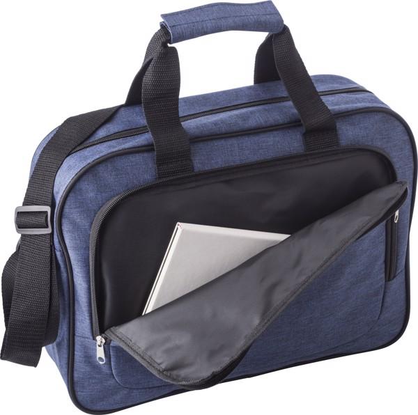 Polyester (300D) laptop bag - Grey