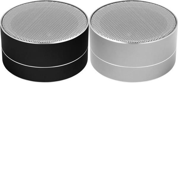Aluminium wireless speaker - Black