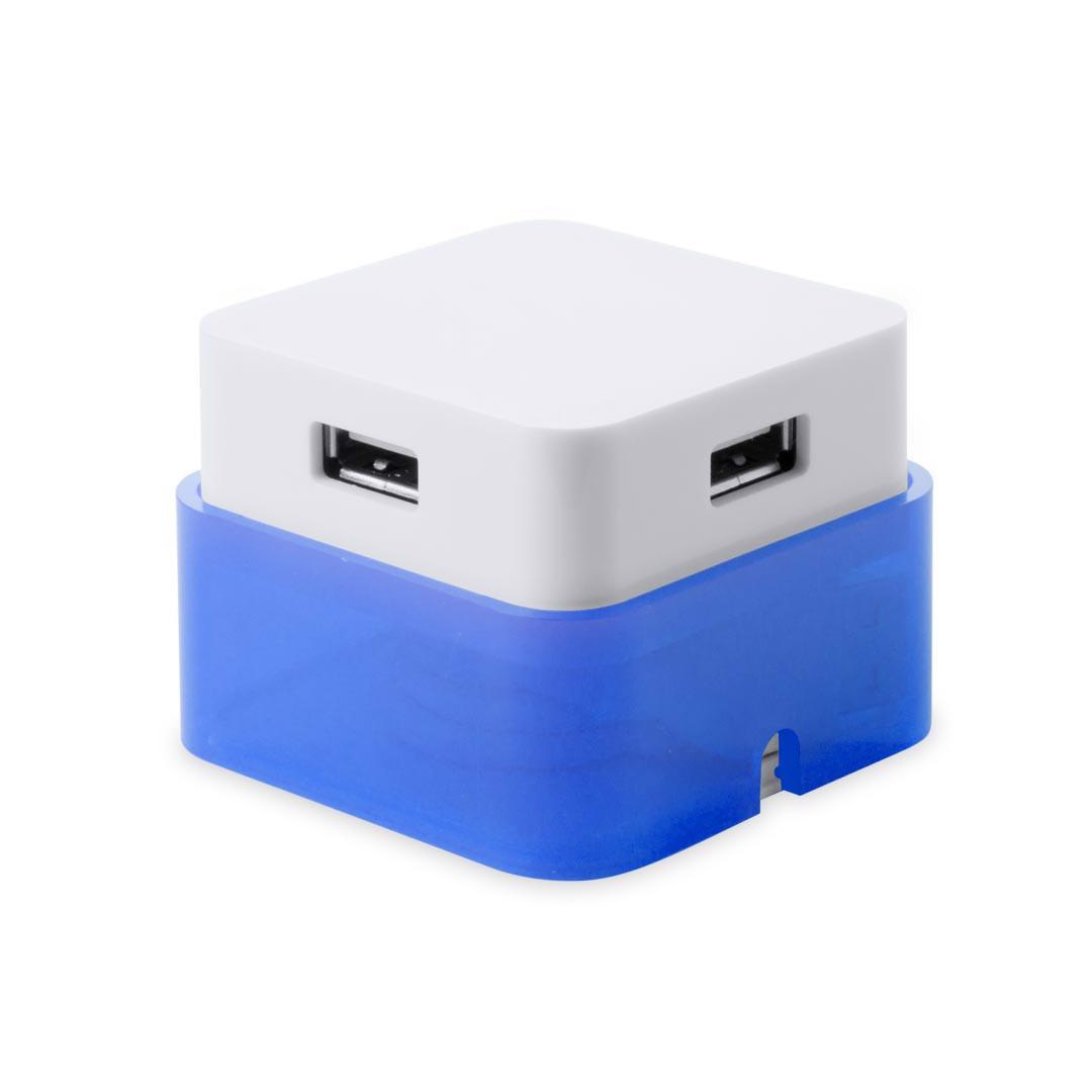 Puerto USB Dix - Azul