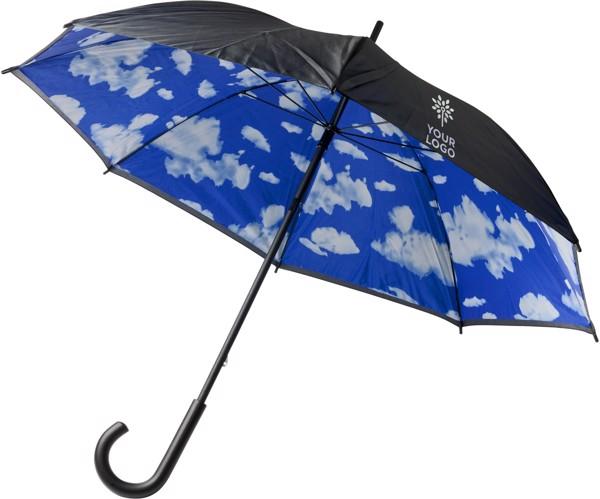 Nylon (190T) umbrella - Light Blue