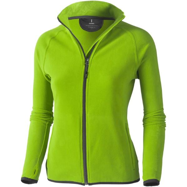 Dámská bunda Brossard z materiálu mikro fleece - Zelené jablko / XS