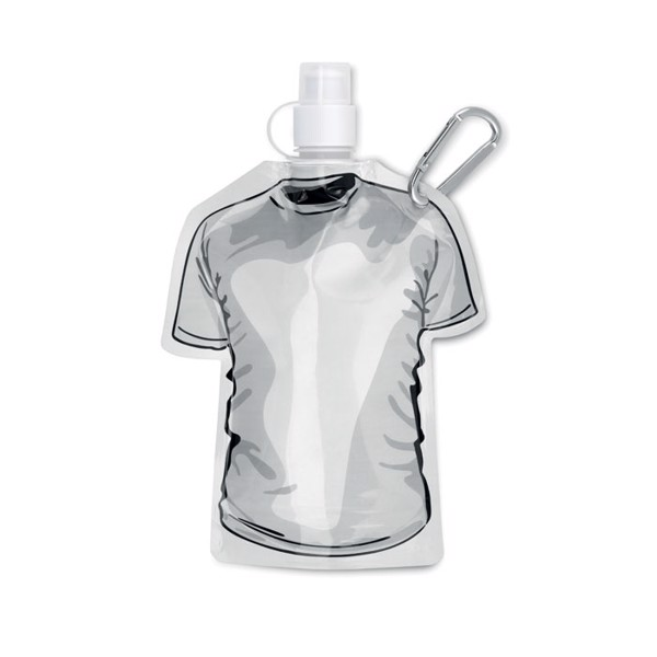 T-shirt foldable bottle Samy - White