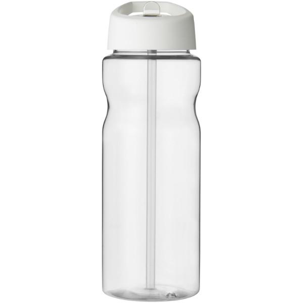 H2O Base® 650 ml spout lid sport bottle - Transparent / White