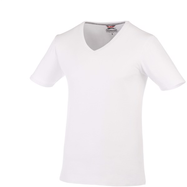Bosey short sleeve men's v-neck t-shirt - White / 3XL