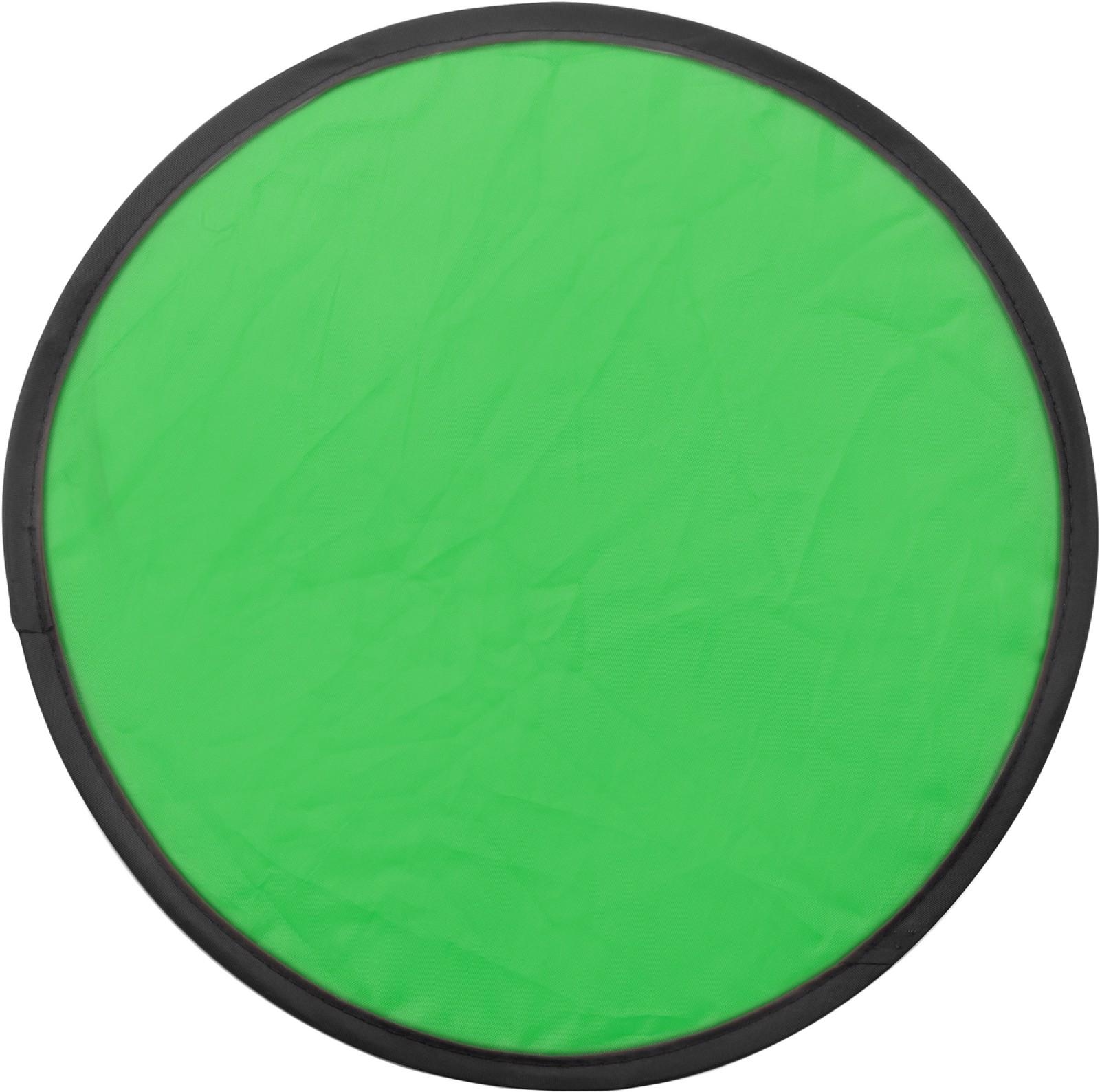 Nylon (170T) Frisbee - Light Green
