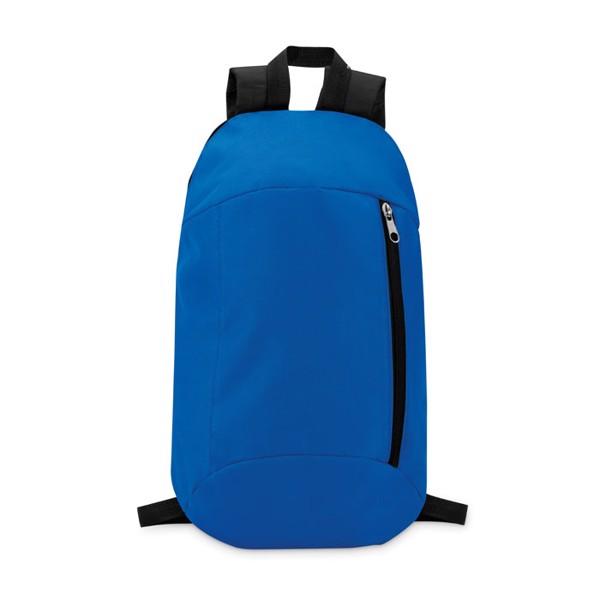 Backpack with front pocket Tirana - Royal Blue