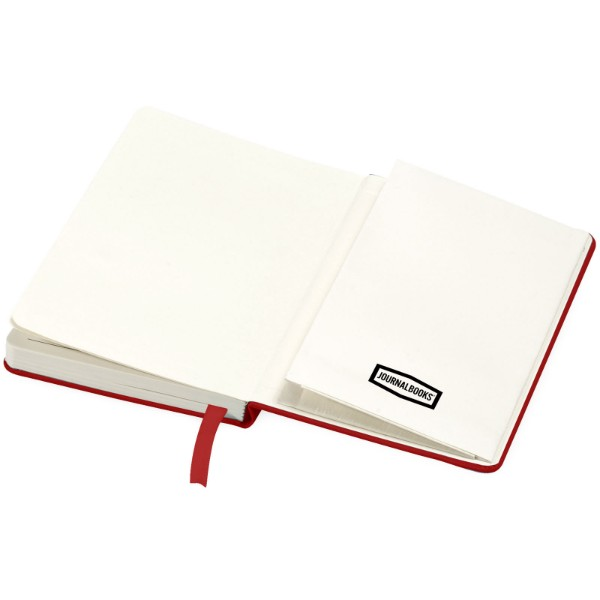 Classic A6 hard cover pocket notebook - Red