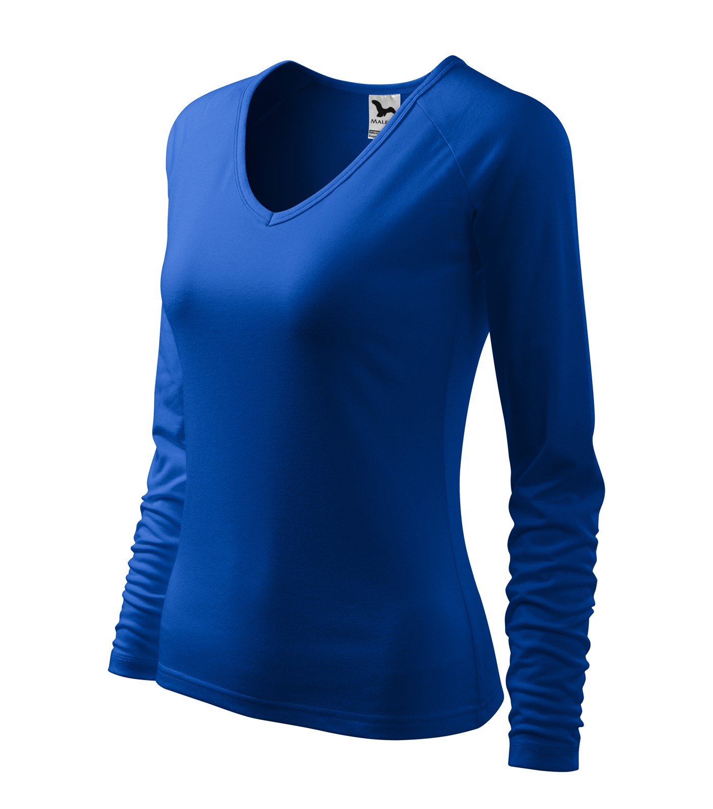 T-shirt women's Malfini Elegance - Royal Blue / L