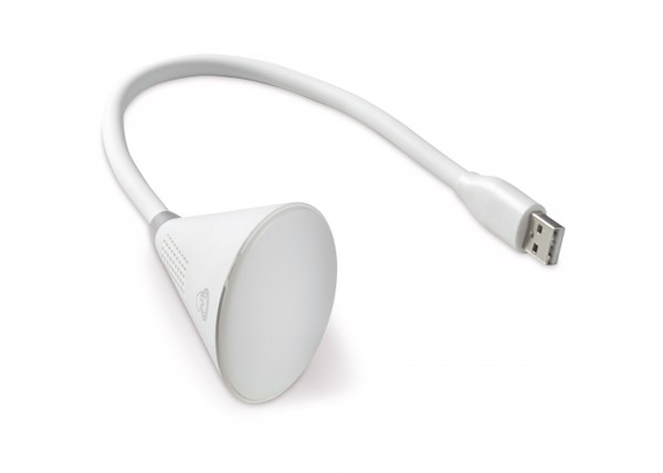 USB speaker light 2W - White