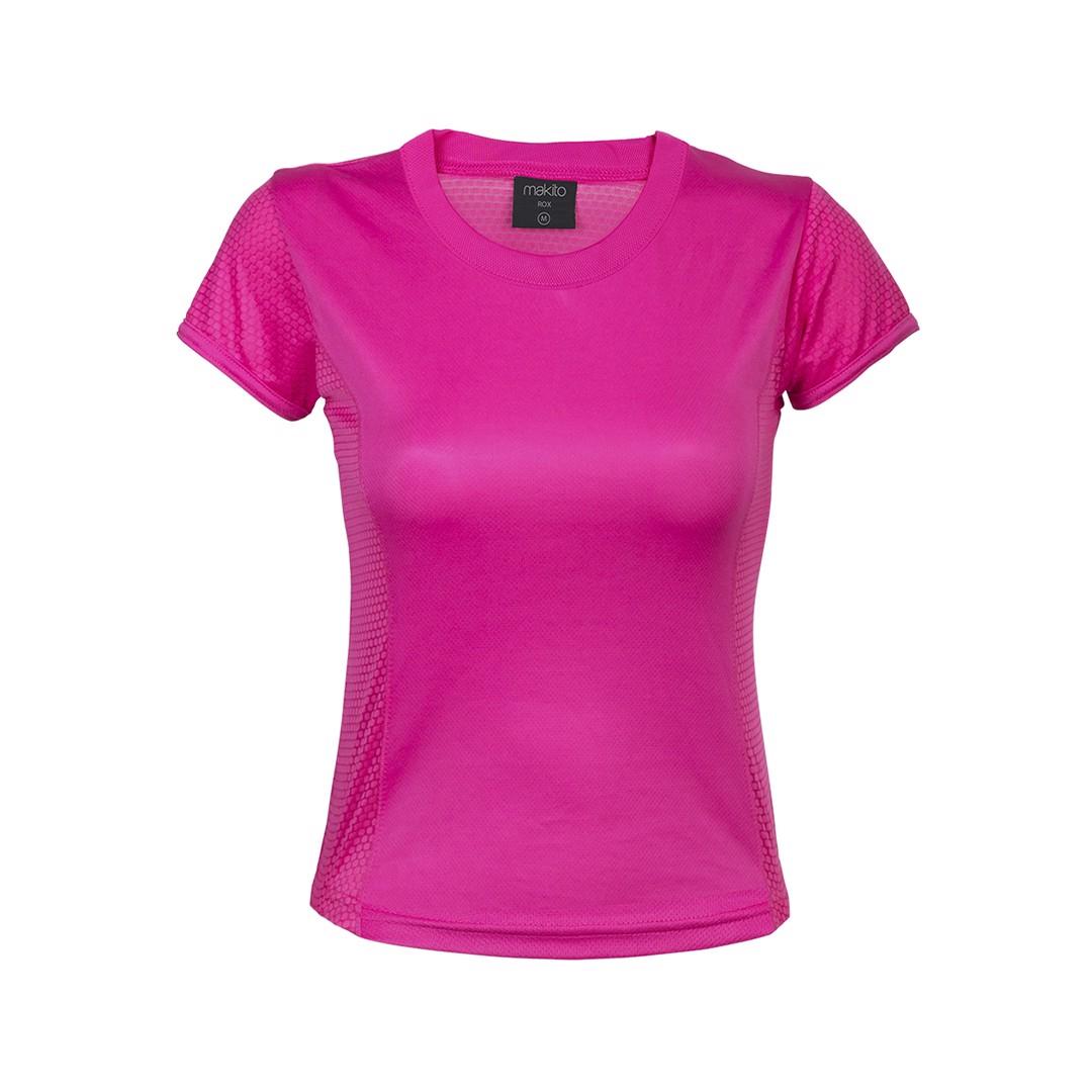 T-Shirt Mulher Tecnic Rox - Fucsia / XL