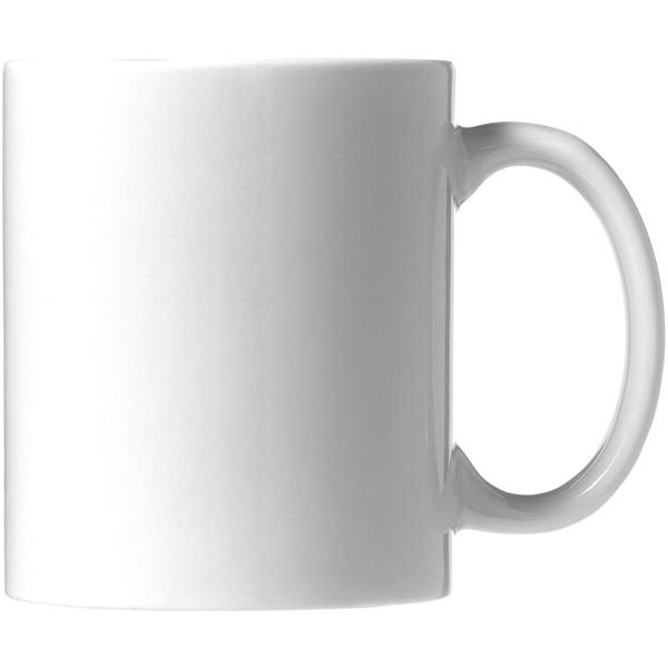 Ceramic Geschenkset mit 4 Bechern mit Sublimationsdruck - Weiss
