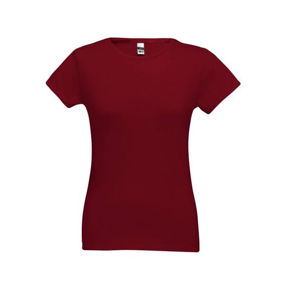 SOFIA. Women's t-shirt - Burgundy / S